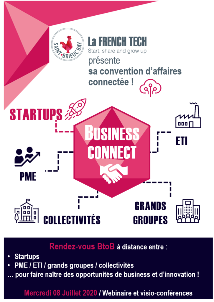Convention d'affaires connectée French Tech Saint-Brieuc Bay