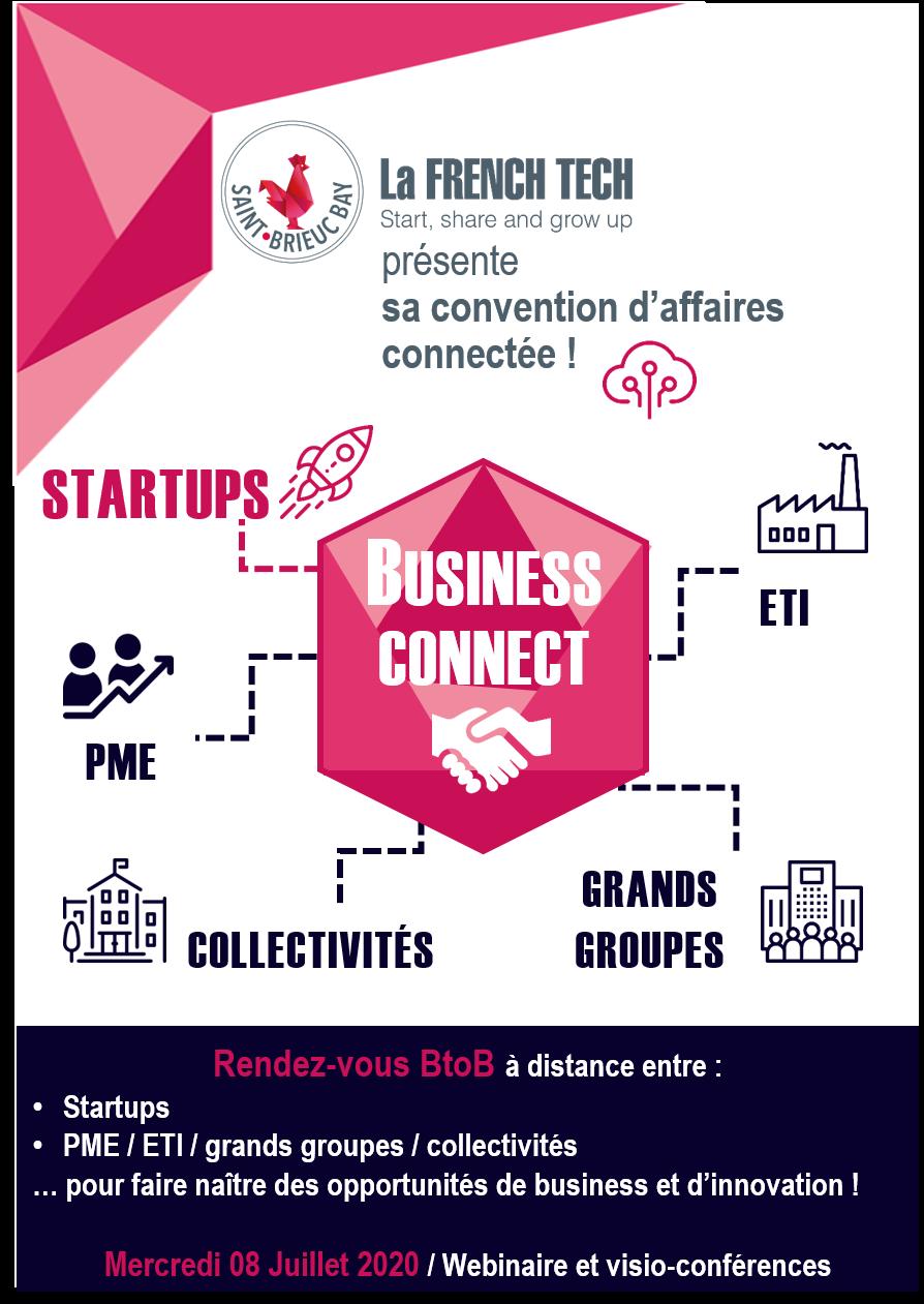 Convention d'affaires connectée French Tech Saint-Brieuc Bay