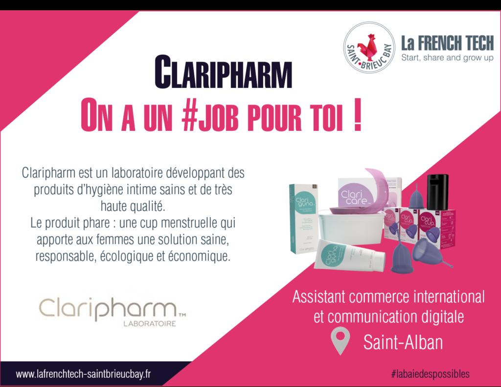 Claripharm à un #job pour toi !